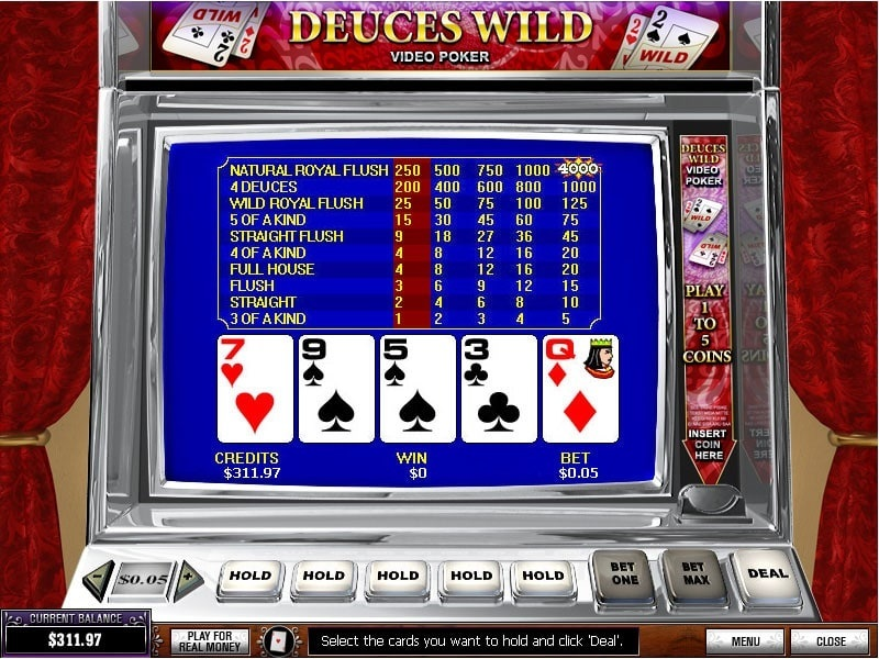 Play poker machine online mini baccarat las vegas