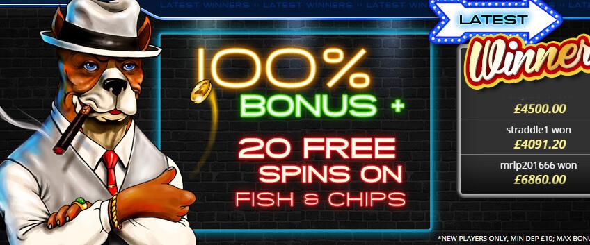 Top Dog Slots Bonus
