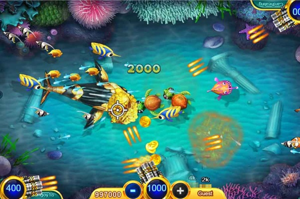 Play Fish Shooting Game And Indulge Yourself In The Pleasure Of Shooting Fish Online